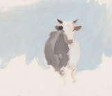 Cow painting by Esther Tyson